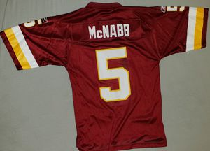 NFL Reebok Redskins McNabb Jersey for Sale in Woonsocket, RI