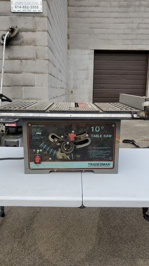 "10 "" table saw for Sale in Columbus, OH"