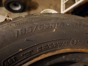 4 mastercraft tires on civic steelies for Sale in Tannersville, PA