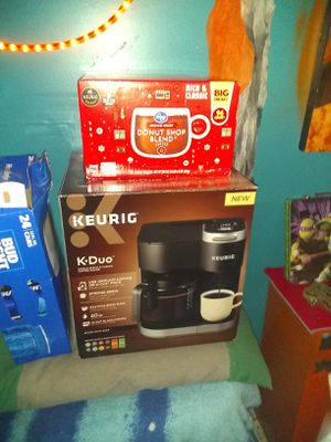 Keurge Coffee maker and coffee for Sale in Wichita, KS