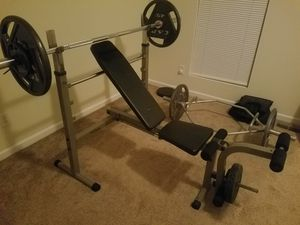 Best Fitness Foldable Weight Bench for Sale in Lithonia, GA