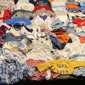 Baby Boy Clothes Lot NB-3Months for Sale in Peoria, AZ