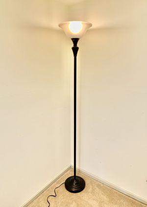 Contemporary Brass Floor Lamp for Sale in Alexandria, VA