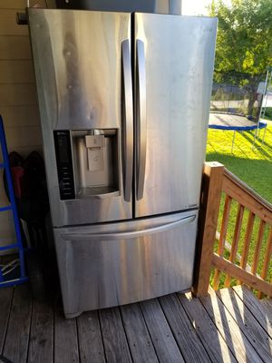 Stainless French door refrigerator for Sale in Dickinson, TX