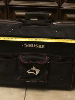 Husky 18 in. X 24 In. Large Mouth Tool Bag with Tool Wall for Sale in Sanford,  FL