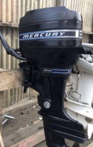 20 hp mercury outboard for Sale in Walnut Grove, CA