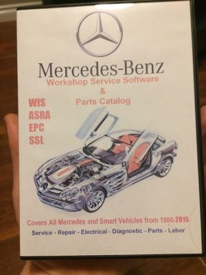 Mercedes workshop service and parts software for Sale in Renton, WA
