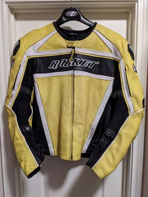 Joe Rocket leather motorcycle jacket size 42 for Sale in Round Rock, TX