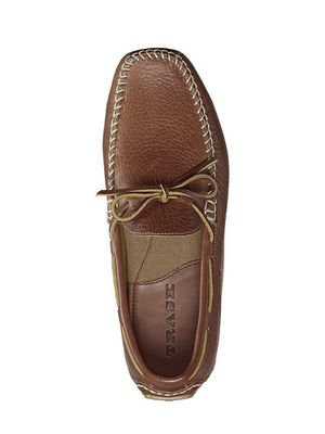 Trask – 'Drake' Leather Driving Shoe SADDLE TAN for Sale in San Diego, CA