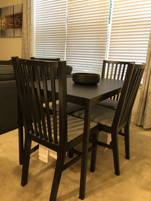 IKEA kitchen table with center piece included for Sale in Trenton, NJ