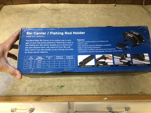 Rhino rack ski/ fishing rod holder for Sale in Denver, CO