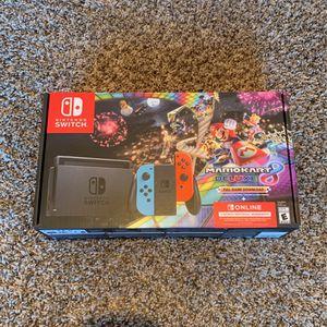 Nintendo Switch Mario Kart 8 Bundle W/ Luigi's Mansion 3 for Sale in Denver, CO