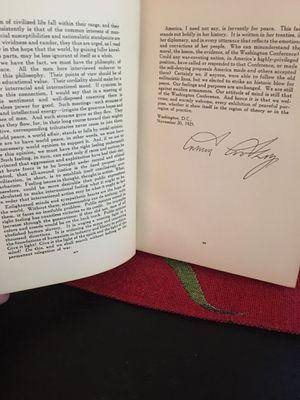 Book vintage , autograph Calvin Coolidge for Sale in Arlington, VA