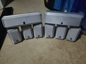 Yamaha surround sound speakers for home stereo system for Sale in Long Beach, CA