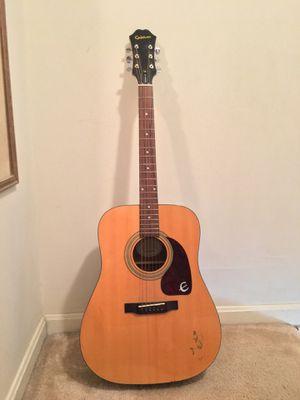 Epiphone acoustic guitar for Sale in Arlington, VA