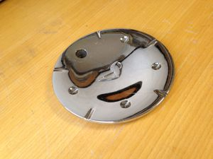 "ALBA Wheels Custom Chrome Center Cap 6"" Wide Rim Hubcap Cover Used Aftermarket for Sale in Phoenix, AZ"