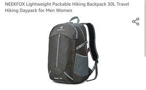 NEEKFOX Lightweight Packable Hiking Backpack 30L Travel Hiking Daypack for Men Women for Sale in Scottsdale, AZ