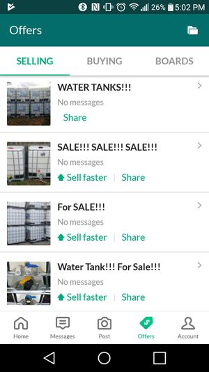 For Sale!!! Water tanks for Sale in Pembroke Pines, FL