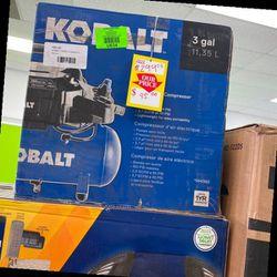 Kobalt LK3197 Air Compressor 😃😃😃 MK for Sale in China Spring,  TX