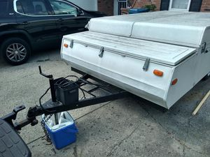 1994 haycock pop up camper in great shape for a 94 everything works also has title new tires for Sale in Indianapolis, IN
