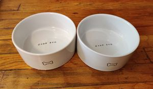 Harmony Good Dog Ceramic Dog Bowl Set, 3 Cup for Sale in Fort Washington, PA