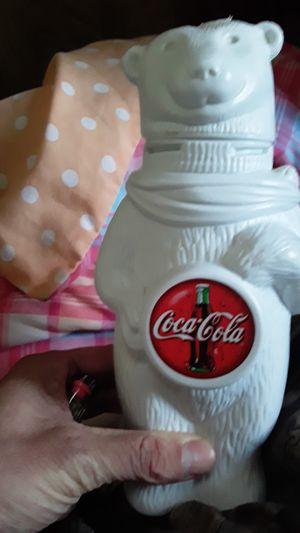 Coke cola polar bear drink jug for Sale in Canton, MO