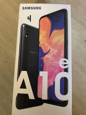 For sale brand new in box Samsung galaxy A10e for Sale in San Diego, CA