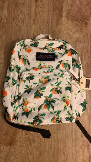 brand new with tags JANSPORT ORANGE BACKPACK for Sale in Pomona, CA