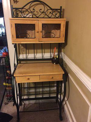 Wood desk / organizer for Sale in Washington, DC