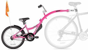 Kazam WeeRide Co-Pilot Bike Trailer Pink - brand new in box for Sale in Los Alamitos, CA