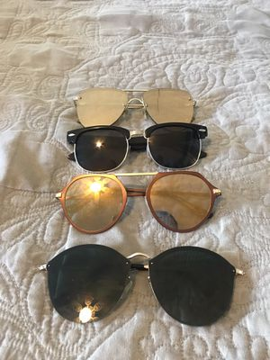 Lot of Sunglasses $5 each or $15 for all 4 pairs for Sale in San Diego, CA