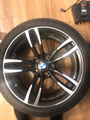 """19"""" bmw M rims and new tire off set for Sale in Richmond, VA"""