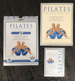 New Open Box Pilates Book and DVD just $3 for Sale in Port St. Lucie, FL