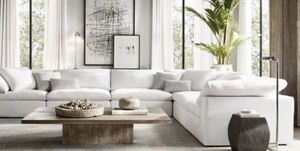 100% Authentic CLOUD Modular Sectional Sofa Couch - Only $975 Per Piece - Originally $2,895 Per Piece - Restoration Hardware RH for Sale in Beverly Hills, CA