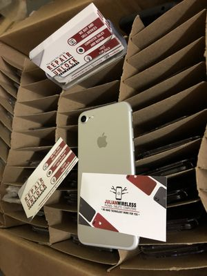 iphone 7 unlocked with warranty for Sale in Columbus, OH