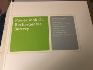 PowerBook G4 Rechargeable Battery for Sale in Aledo, IL