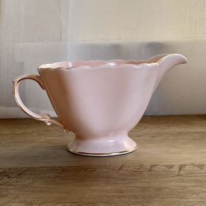 Antique vintage duchess creamer pink gold fine bone china for Sale in Santa Ana, CA