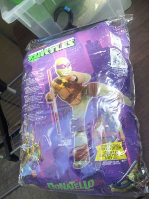 Sz.12-14 ninja turtle deluxe costume for Sale in Bronx, NY