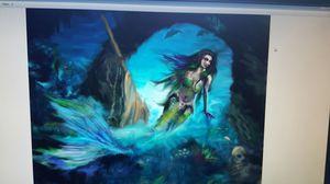 Mermaid art painting for Sale in Manassas, VA