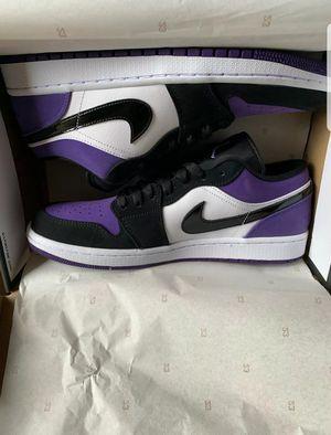 Jordan 1 low purple size 9.5 for Sale in Houston, TX