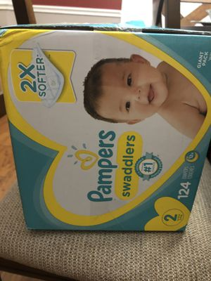 Pampers size 2 for Sale in Irving, TX