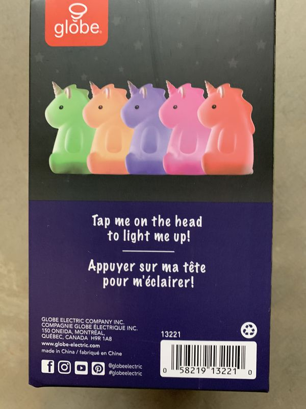Rylie Color Changing Unicorn Light