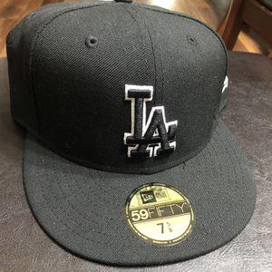 New LA Dodgers Hat Size 7 5/8 for Sale in San Bernardino, CA