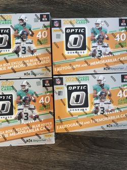 Optic Nfl Mega Box , Football Cards for Sale in Bonney Lake,  WA