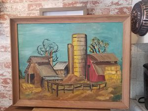 Farmhouse Canvas Painting for Sale in Fresno, CA