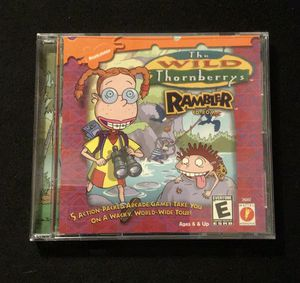 The Wild Thornberry's Rambler old PC game for Sale in Lawrenceville, GA