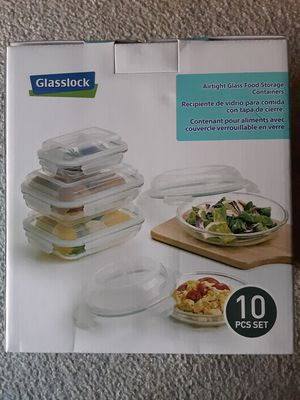 Glasslock Food Storage Containers for Sale in Hemet, CA