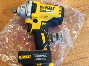 New DeWalt Brushless Xr Mid Range Impact Wrench For Sale for Sale in Mukilteo, WA