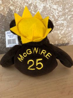 Mark McGwire Beanie Baby Bear for Sale in Roseville,  CA