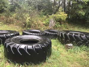 5 LARGE tractor tires for Sale in Orting, WA